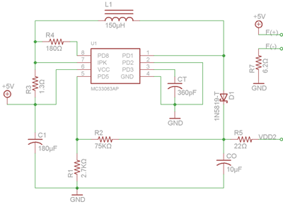 Power Supply Circuit Reference: DS2045G