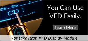 You can use VFD easily.