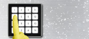 4x4 Glass Keypad