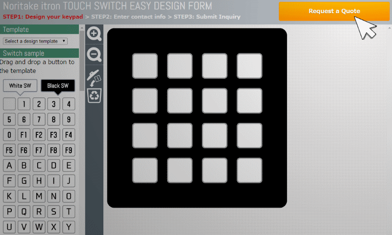 Semi-custom-keypad-design-page-drag-and-drop-image