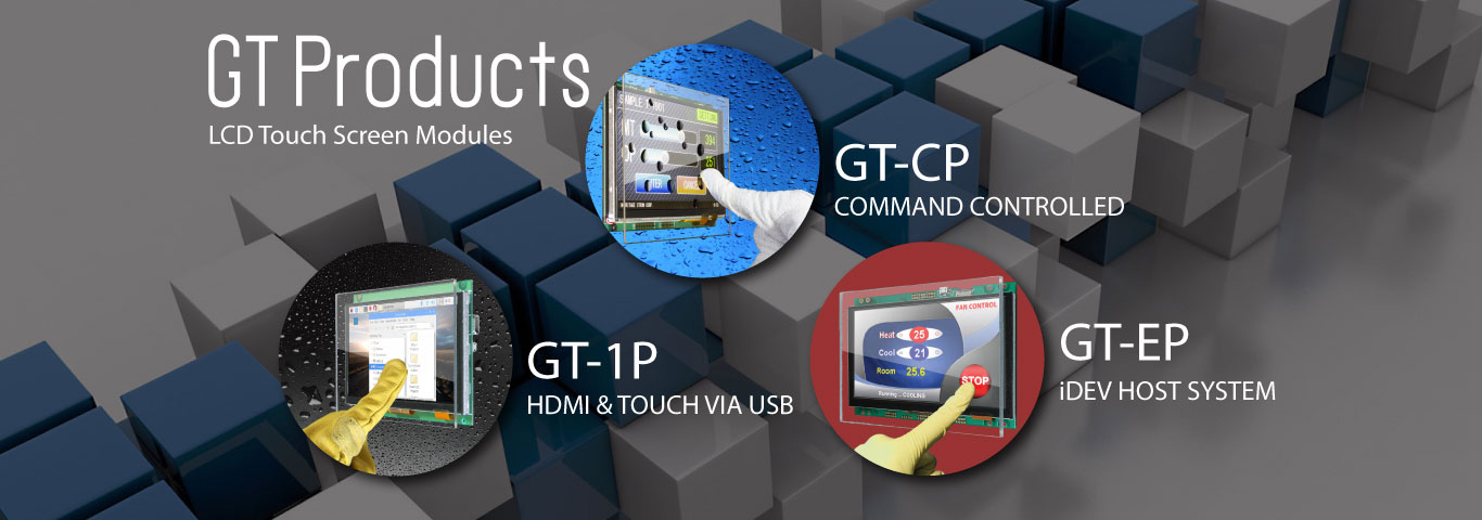 Noritake GT Series | Smart TFT Touch Modules