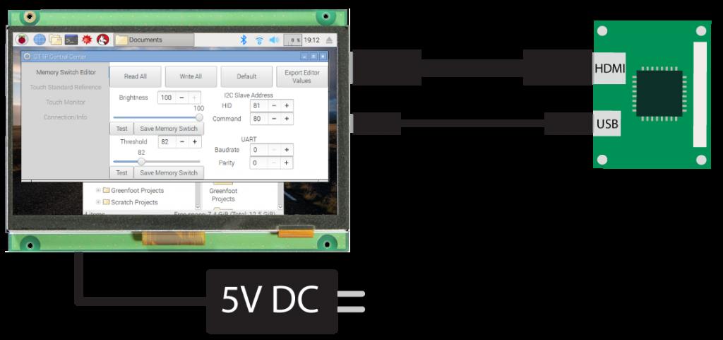 GT-VP Control Center Version 4.0