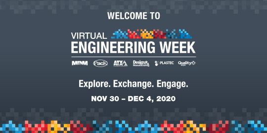 Noritake is exhibiting at Virtual Engineering Week 2020