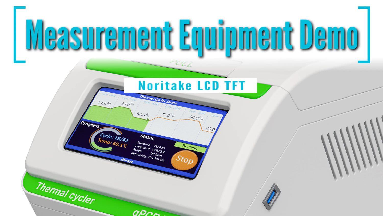 Measurement Equipment Demo | Noritake LCD TFT