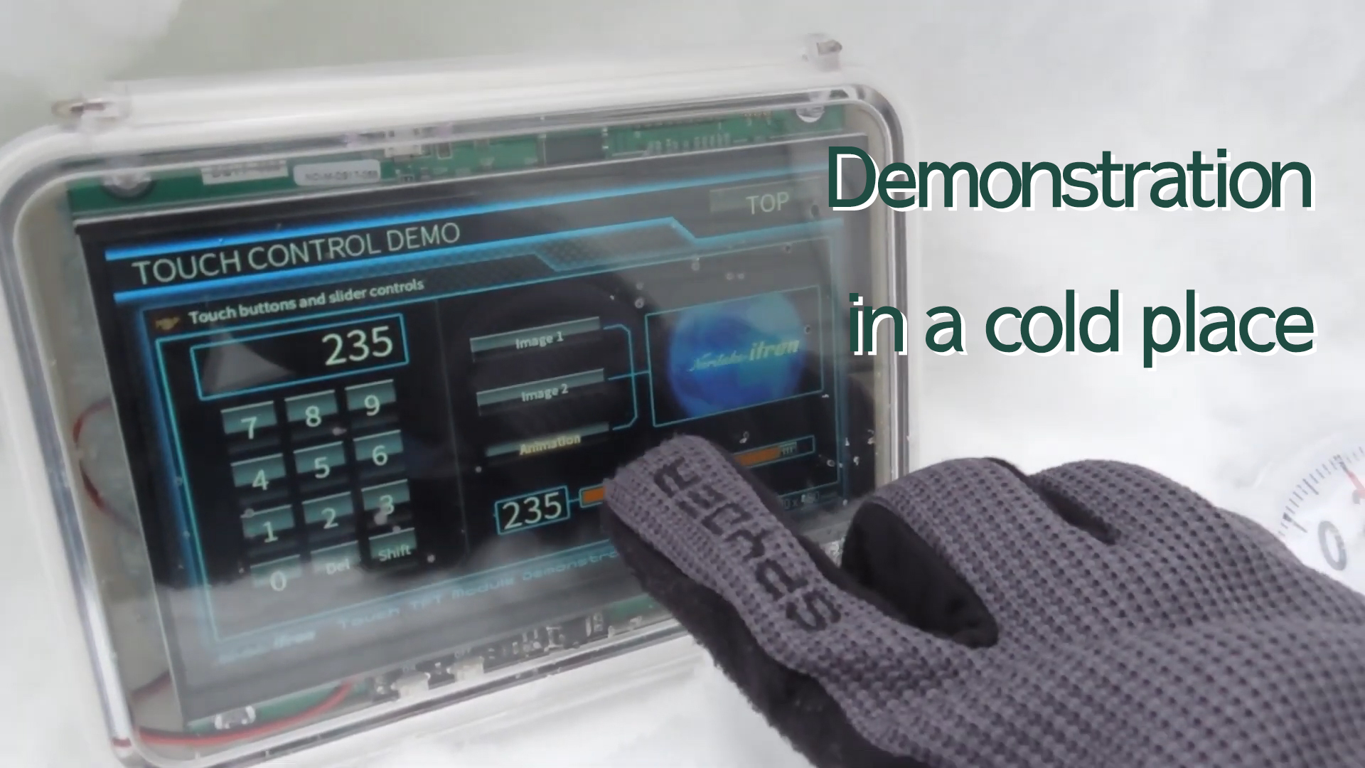 TFT Display in Cold Weather | Noritake LCD TFT
